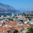 Stock Photo: Panoramof Kotor and Kotor Bay, Montenegro