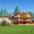 Wooden palace of tzar Aleksey Mikhailovich, Russia — Stock Photo #15762149