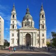 St. Stephen Basilica in Budapest — Stock Photo