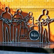 Stock Photo: Monument to Beatles in Ekaterinburg