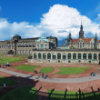 Panorama of the Zwinger Palace in Dresden, Germany — Stock Photo