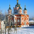 Cathedral of the Exaltation of the Holy Cross in Kolomna, Russia — Stock Photo #15762673