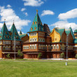 Wooden palace of tzar Aleksey Mikhailovich, Kolomenskoe, Russia — Stock Photo
