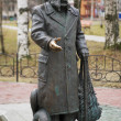 Monument to fairy tale author StepPisakhov in Arkhangelsk — Stockfoto #15763329