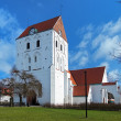 Churh of the Holy Cross in Ronneby, Sweden - Stock Photo