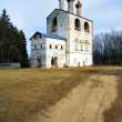Stock Photo: Church in Monastery of St. Boris and St. Gleb, Russia