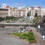 Independence Square in Kiev, Ukraine — Stock Photo #15763547
