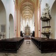 Interior of the Church in Ceske Budejovice — Foto de Stock