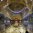 Interior of the Hagia Sophia in Istanbul — Stock Photo #15764127