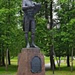 Monument to the russian poet Gavrila Derzhavin — Stock Photo #15764175