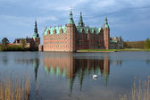Frederiksborg palace in Hillerod, Denmark — Stock Photo