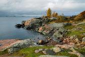 Coast of island near the Helsinki — Stock Photo