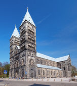 Lund Cathedral, Sweden — Stock Photo