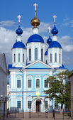 Kazan katedrála ve městě tambov, rusko — Stock fotografie