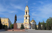 利佩茨克,俄罗斯在大教堂广场 — 图库照片