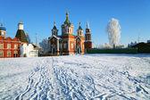 Katedrála ve městě kolomna, rusko — Stock fotografie