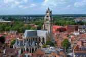 Katedrála svatého salvátora, bruggy, belgie — Stock fotografie