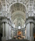 Interior of the Theatine Church in Munich, Germany — Stock Photo
