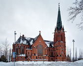 Umea City Church, Sweden — Stock Photo