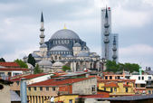 View of Suleymaniye Mosque, Istanbul — Stock Photo