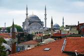Nuruosmaniye Mosque in Istanbul, Turkey — Stock Photo