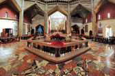 Interior of the Basilica of the Annunciation in Nazareth — Stock Photo