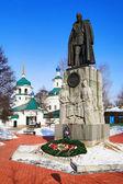 Denkmal für admiral kolchak in irkutsk — Stockfoto