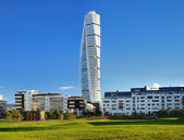Turning torso - gratte-ciel à malmo — Photo