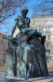 August Strindberg Monument in Stockholm, Sweden — Stock Photo