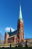 Saint Johannes Church in Stockholm, Sweden — Stock Photo