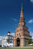 Soyembika Tower and Palace Church in Kazan Kremlin — Stock Photo