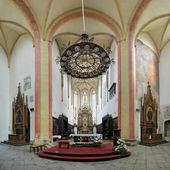 チェスケ ブデヨヴィツェの教会の内部 — ストック写真