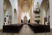 Interior of the Church in Ceske Budejovice — Stock Photo
