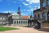 Fragment zwinger zamek pałac i drezno, niemcy — Zdjęcie stockowe