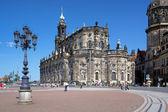 Catholic Church in Dresden, Germany — Stock Photo