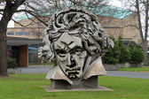 Beethon - a bust of Ludwig van Beethoven in Bonn, Germany — Stock Photo