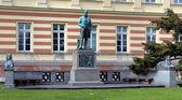 Monument to german chemist August Kekule in Bonn — Stock Photo