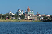 View of Solovetsky Monastery from the White Sea, Russia — Stock Photo