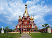St. Michael cathedral in Izhevsk, Russia — Stock Photo