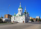 Church of the Saviour in Tyumen, Russia — Stock Photo