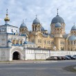 Exaltation of the Holy Cross Cathedral in Verkhoturye, Russia - Stock Photo