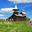 Chapel of the Archangel Michael on island Kizhi - Stock Photo