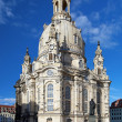 Frauenkirche in Dresden, Germany - Stock Photo