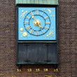 Clock dedicated to Schneider Wibbel in Dusseldorf, Germany — Stockfoto #15913925