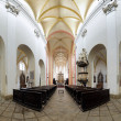 Stock Photo: Interior of the Church in Ceske Budejovice, Czech Republic