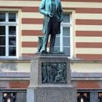 Monument to german chemist August Kekule in Bonn, Germany — Stock Photo #15914509
