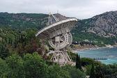 Radiotelescope of the Simeiz Observatory in Crimea — Stock Photo