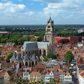 Saint Salvator Cathedral in Bruges, Belgium — Stock Photo