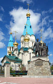 Cathedral of the Annunciation in Blagoveshchensk, Russia — Stock Photo