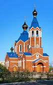 Orthodox Cathedral in Komsomolsk-on-Amur — Foto Stock